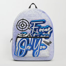 Focus On You Backpack