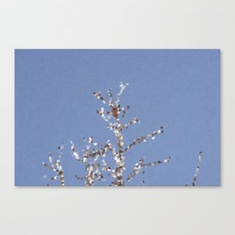 Winter Abstract 2 Canvas Print