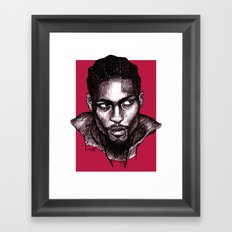 D'Angelo Framed Art Print