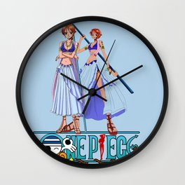 Nami Pretty Pirates - OnePiece Wall Clock