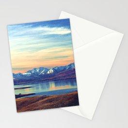 Lake Tekapo New Zealand-Fall Stationery Cards