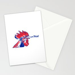 France Les Blues (The Blues) ~Group C~ Stationery Cards