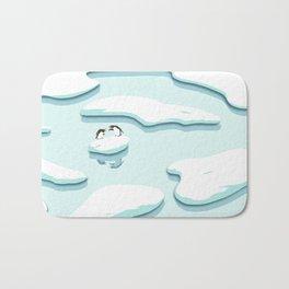 Arguing Penguins Bath Mat