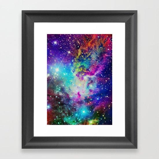 Fox Nebula Framed Art Print