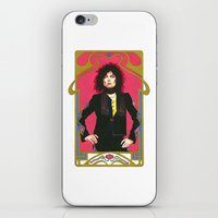 marc jacobs iPhone & iPod Skins featuring Marc Bolan by Saoirse Mc Dermott