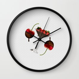 Delicious Sweet Chocolate Wall Clock