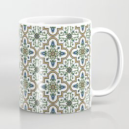 Spanish Tile Pattern – Andalusian ceramic from Seville Coffee Mug