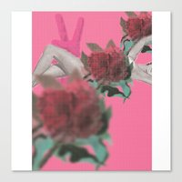 tote Canvas Prints featuring tote by Taylor Alley