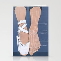 ballet Stationery Cards featuring ballet by Anne de Swart
