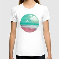silent T-shirts featuring SILENT BEACH by VIAINA