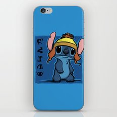 Shiny and Blue iPhone & iPod Skin