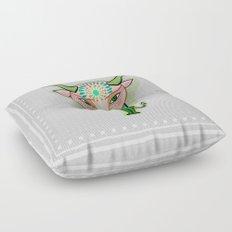 taurus zodiac sign Floor Pillow