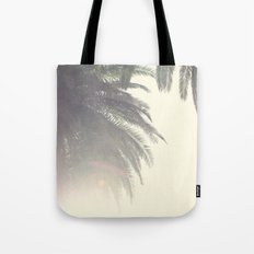 Sunset Palm Tree Tote Bag
