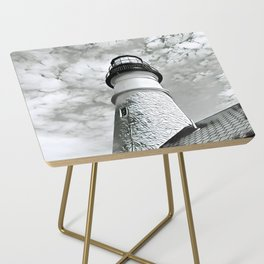 Lighthouse in Maine Side Table