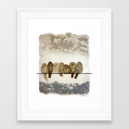 Differences Framed Art Print