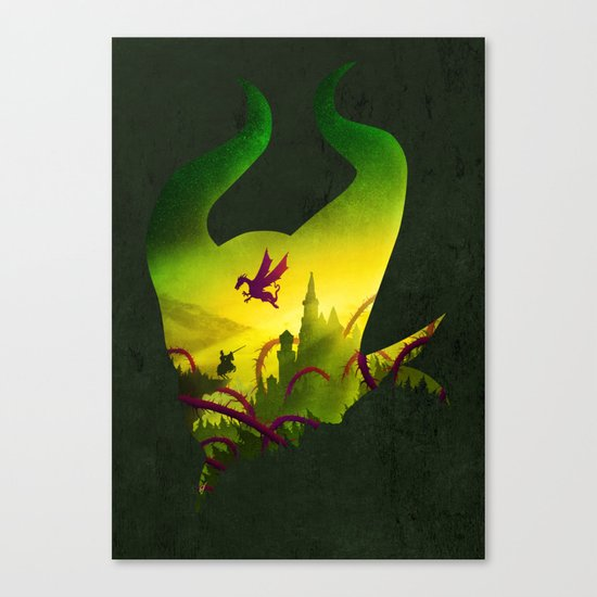 Enchanted Sleep Canvas Print