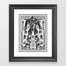 Legend of Zelda Ganondorf the Wicked Framed Art Print