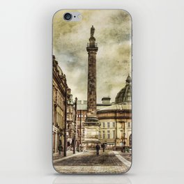 Textured Newcastle Upon Tyne iPhone Skin