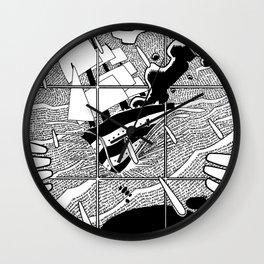 Gerald Manley Hopkins Tribute Wall Clock