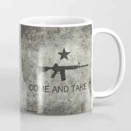 Come and Take it Flag with AR-15 Coffee Mug
