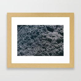 Rock Framed Art Print