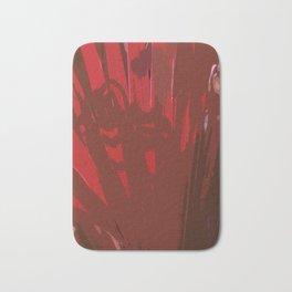 Deep Red Bath Mat