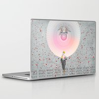 "architect Laptop & iPad Skins featuring ""The Big Architect"" by Alessandro De Vita"