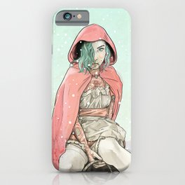 Waiting for the Wolf iPhone Case