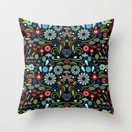 Scandinavian Inspiration (Black) Throw Pillow