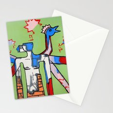 Contemplating The Ability To Fly Stationery Cards