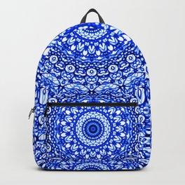 Blue Mandala Mehndi Style G403 Backpack