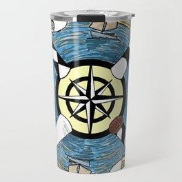 OBX Lighthouse Mandala Travel Mug