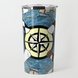 OBX Lighthouse Mandala Travel Mug