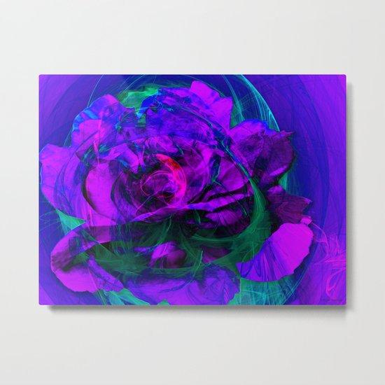 Always A Rose Metal Print