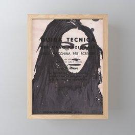 Elisa Framed Mini Art Print