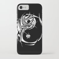yin yang iPhone & iPod Cases featuring Yin Yang by David T Eagles