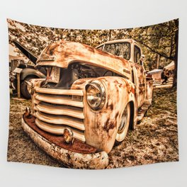 Old pickup ( Photo by Antal Ullmann ) Wall Tapestry