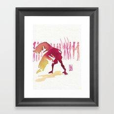 Capoeira 327 Framed Art Print