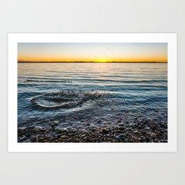 Multi-Splash Art Print