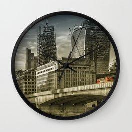 London North Bank Wall Clock