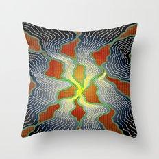Modern Aboriginal 8 Throw Pillow