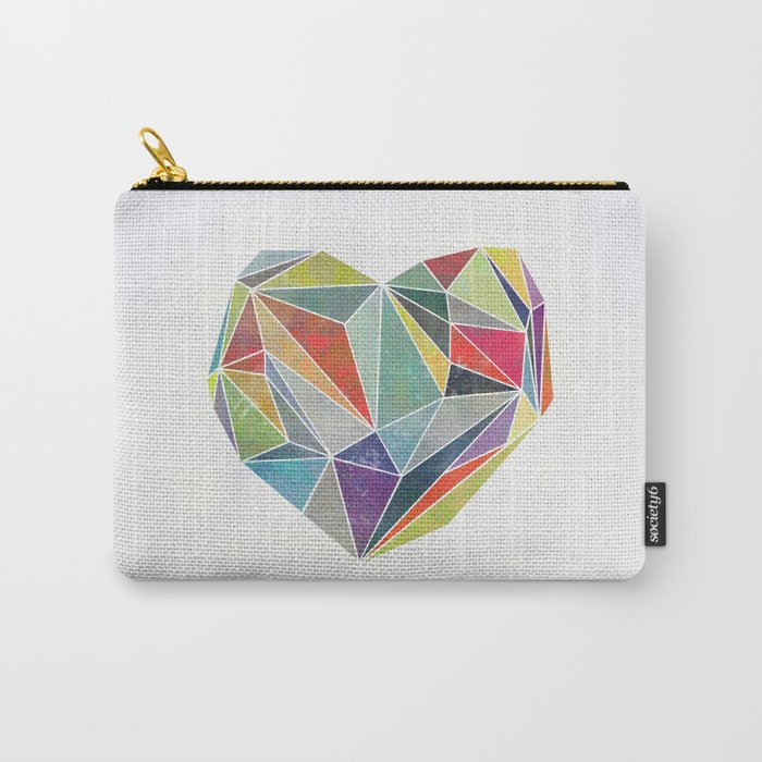 Heart Graphic 5 Carry-All Pouch