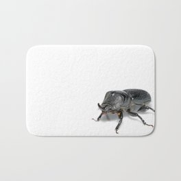 Ruggedly Rugose Stag Beetle Bath Mat