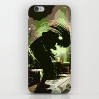 rock n roll iPhone & iPod Skins featuring Rock N Roll by DTGTEEZ
