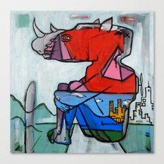 Contemplating Collective Consciousness by Amos Duggan 2013 Canvas Print