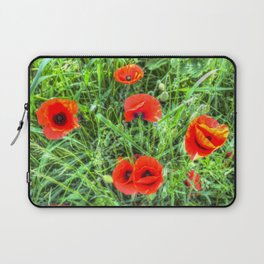 Poppy's Of Summer Laptop Sleeve