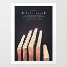 Interstellar Art Print