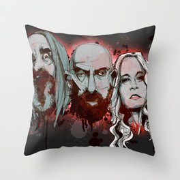 3 From Hell Throw Pillow