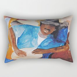 Coastal Musicians Rectangular Pillow