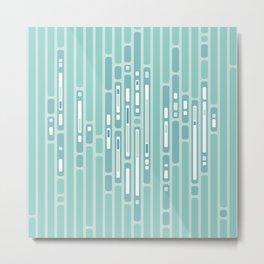 Ocean Abstract – Blue / Teal Metal Print